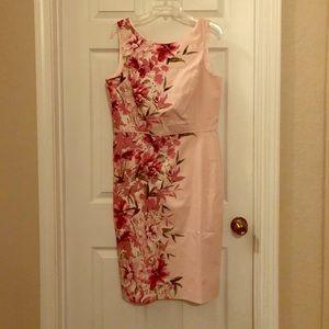 🔥NWT🔥 White House Black Market Pink Midi Dress